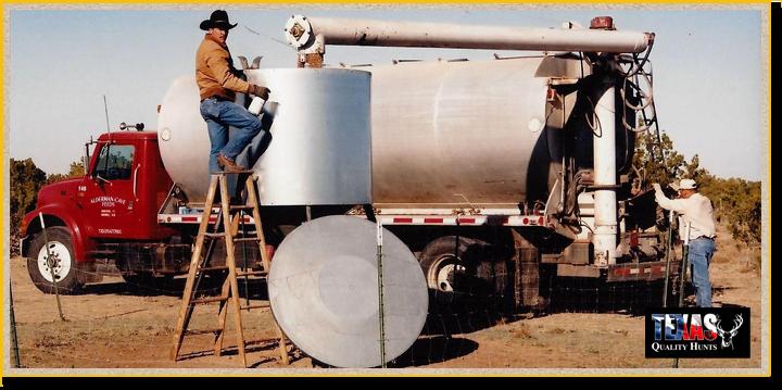 Feed Truck Texas Quality Hunts