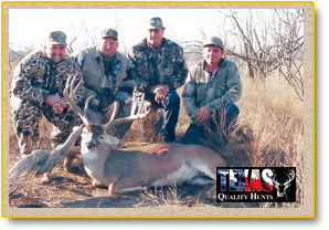 Robert Paul Group Sterling City Texas Trophy Buck